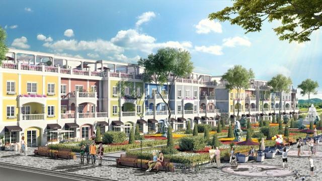 Oyster Plus của FLC Quảng Bình, tổ hợp 350 căn Shophouse sở hữu 2 -3 mặt tiền đang thu hút nhà đầu tư