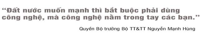 Quyền Bộ trưởng TT-TT Nguyễn Mạnh Hùng: Đất nước muốn mạnh, bắt buộc phải dùng công nghệ - 2