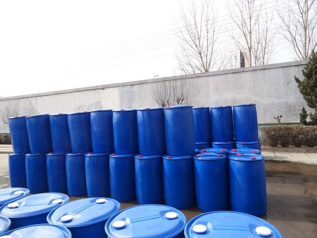 Những thùng đường lỏng chiết xuất từ tinh bột ngô có xuất xứ từ Trung Quốc.