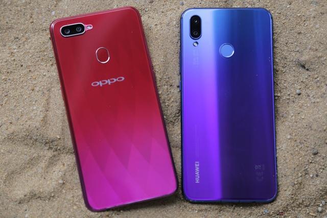 """Huawei Nova 3i """"đọ"""" Oppo F9: Kẻ tám lạng người nửa cân - 2"""