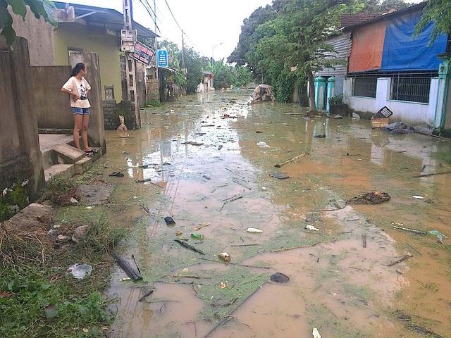 Nước đổ về quá nhanh, hơn 100 nhà dân ngập sâu hơn 1m - 11