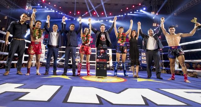 Sự kiện Muay Thai Championship 2018 diễn ra đầy sôi động
