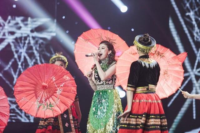 Phần thi của Cô gái triệu view, Ngọc Ánh với một ca khúc mới toanh của nhạc sĩ Hồ Hoài Anh viết mang tên Bồ công anh trong gió. .