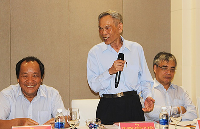 Ông Trương Đình Tuyển – Tổ trưởng Tổ tư vấn kinh tế xã hội Nghệ An.