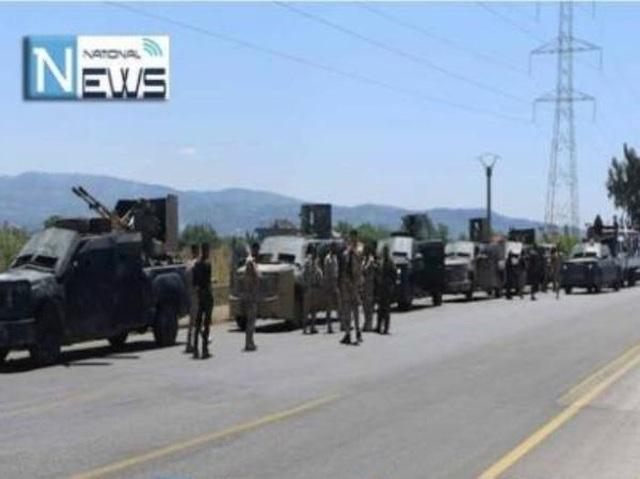 Đoàn xe của SAA