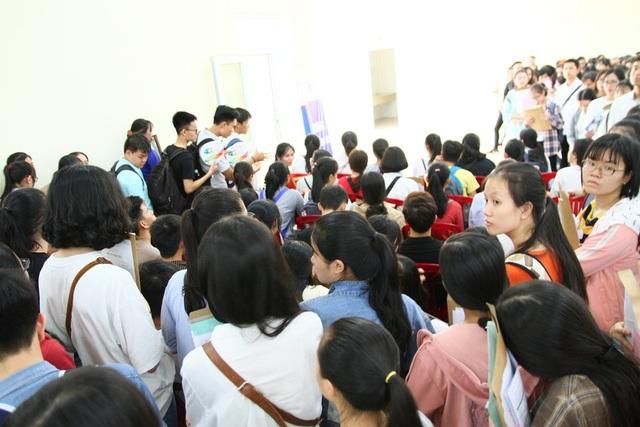 Trường Đại học Ngoại ngữ có gần 100% sinh viên đến nhập học chính thức