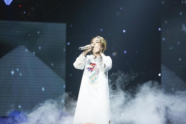 Thanh Thảo- học trò Thu Phương biểu diễn khiến Noo Phước Thịnh xúc động.