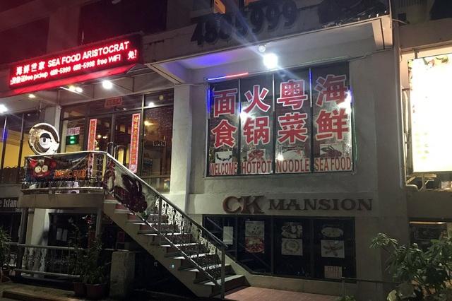 Cửa hàng Trung Quốc ế khách tại Palau (Ảnh: Reuters)