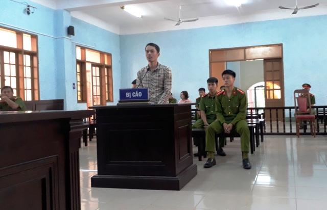 Bị cáo Nguyễn Văn Duy trong phiên tòa xét xử.