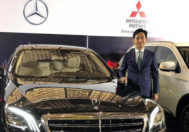 Tổng giám đốc MBV - Choi Duk Jun tại cuộc họp báo trước triển lãm Vietnam Motor Show 2018