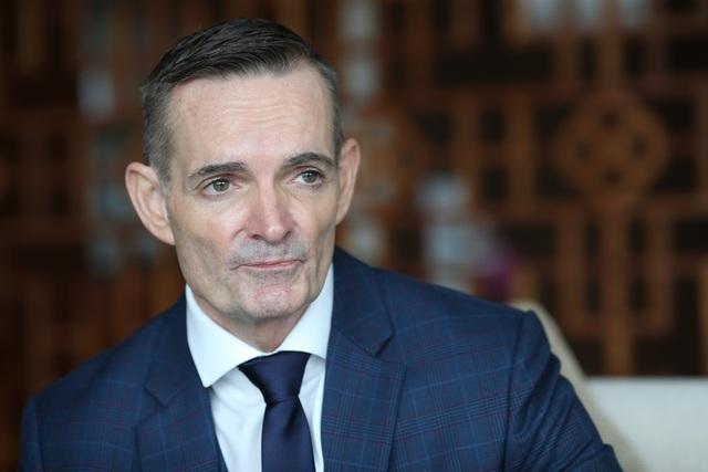 Ông Philip Beriman - Tổng Giám đốc khách sạn InterContinental Nha Trang.