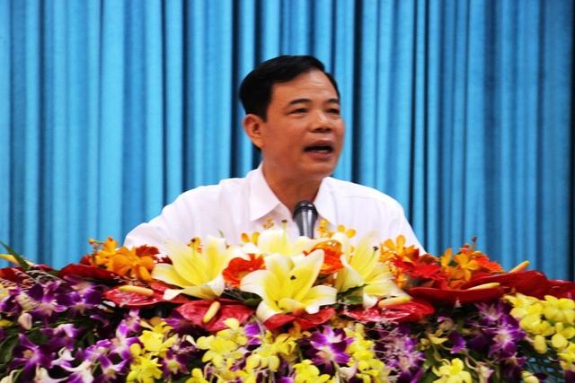 Bộ trưởng Bộ NN&PTNT Nguyễn Xuân Cường phát biểu chỉ đạo tại hội nghị