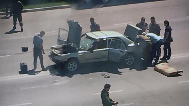 Một vụ tấn công ở Chechnya ngày 20/8. (Ảnh: AFP)