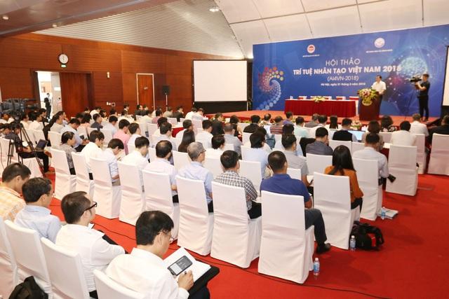 Hơn 100 nhà khoa học tham dự Hội nghị Diên Hồng về Trí tuệ nhân tạo - Ảnh 2.