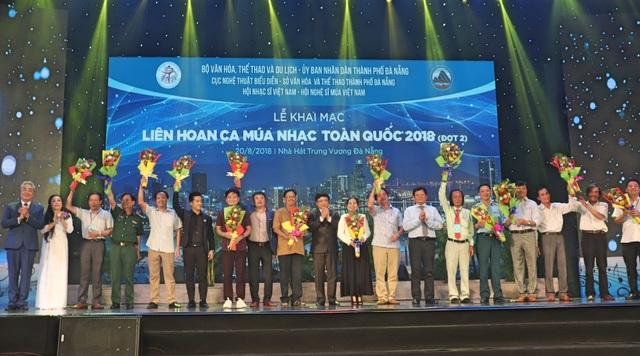 Liên hoa Ca Múa Nhạc toàn quốc 2018 (đợt 2) vừa khai mạc tại Đà Nẵng tối 20/8