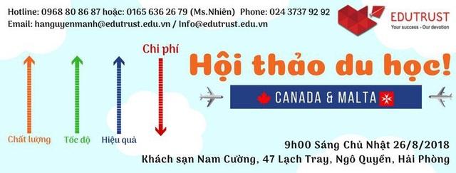 Giải pháp du học, định cư tại Canada và du học Malta với Visa 100% - 1