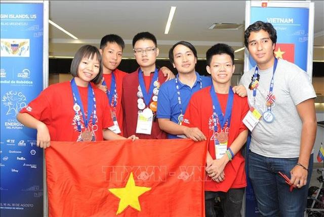 Học sinh THPT FPT giành thành tích cao trong cuộc thi Robotics toàn cầu - 3