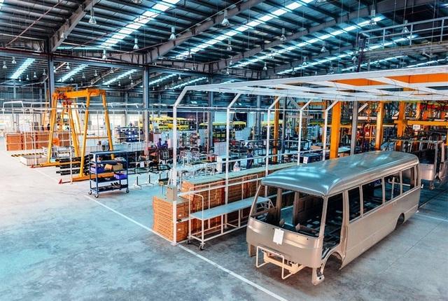 Samco đầu tư máy móc, nhà xưởng trị giá hàng trăm tỷ đồng để sản xuất dòng xe Fuso Rosa.
