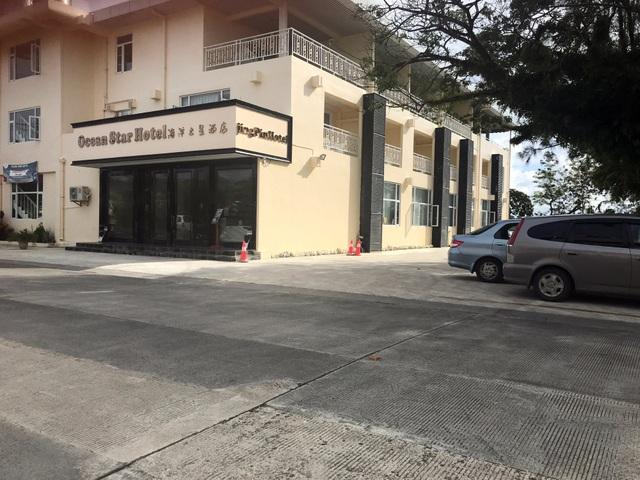 Khách sạn Ocean Star vắng khách tại Palau (Ảnh: Reuters)