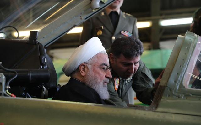 Tổng thống Iran Hassan Rouhani (Ảnh: AFP)