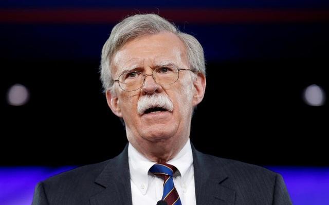 Cố vấn An ninh Quốc gia Mỹ John Bolton (Ảnh: Reuters)