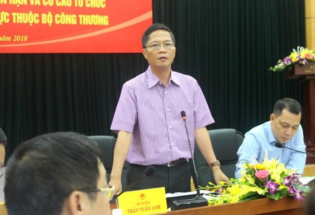 Bộ trưởng Công Thương Trần Tuấn Anh phát biểu tại hội nghị.
