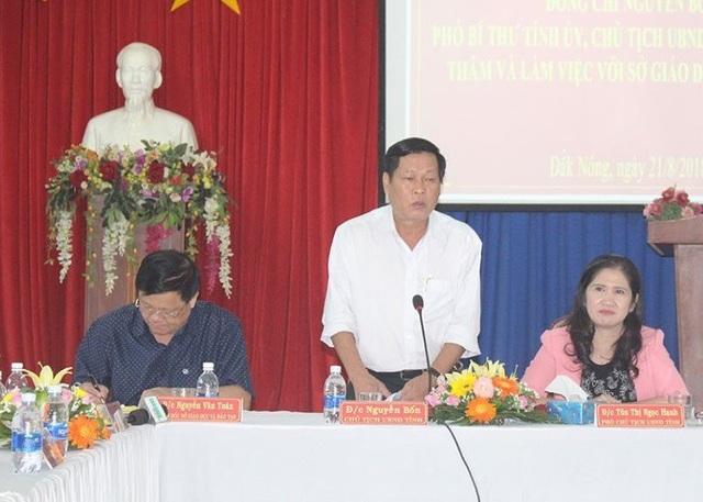 Chủ tịch UBND tỉnh Đắk Nông chỉ đạo tiếp tục ký hợp đồng để giải quyết tình trạng thiếu giáo viên