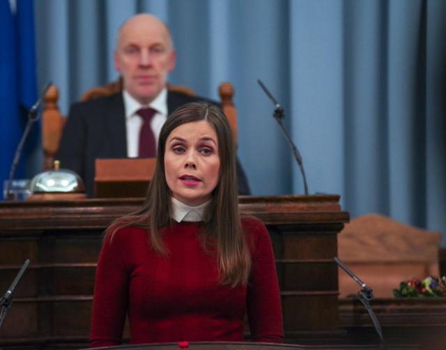 Thủ tướng Iceland Katrín Jakobsdóttir (Ảnh: Reuters)