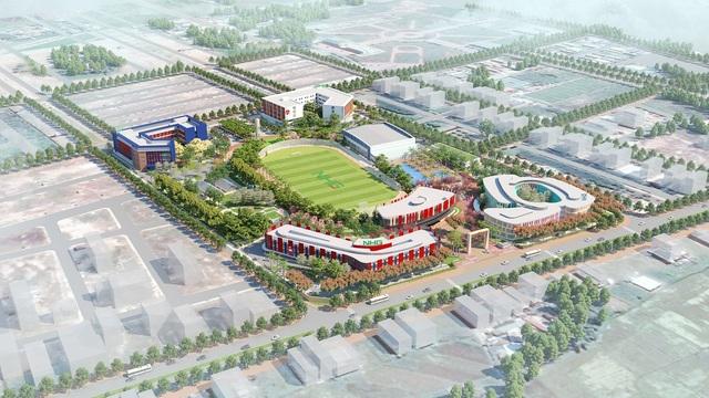 IEC Quảng Ngãi tổng quan: Tổng quan dự án Thành phố giáo dục quốc tế IEC Quảng Ngãi.