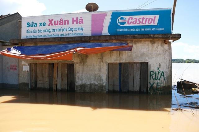 Nhiều vùng ở Nghệ An vẫn mênh mông nước lũ - 13