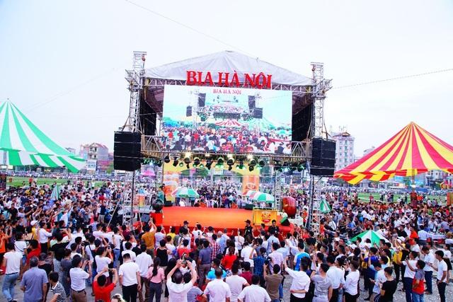 """Ngày hội Bia Hà Nội tại Bắc Giang: """"Vui không khoảng cách"""" - 4"""