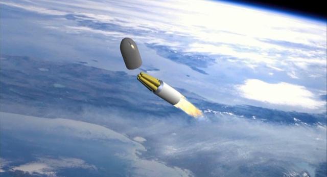 Tổng thống Nga Putin từng tiết lộ tên lửa mới của Nga có thể xuyên thủng mọi lá chắn tên lửa, bắn tới bất cứ đâu trên thế giới. (Ảnh minh họa: NBC)