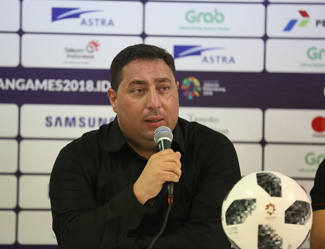 HLV Muhannad của Olympic Syria muốn gặp Olympic Việt Nam ở tứ kết Asiad 2018