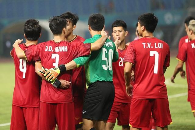 Olympic Việt Nam được nghỉ 1 ngày sau trận thắng trước Bahrain