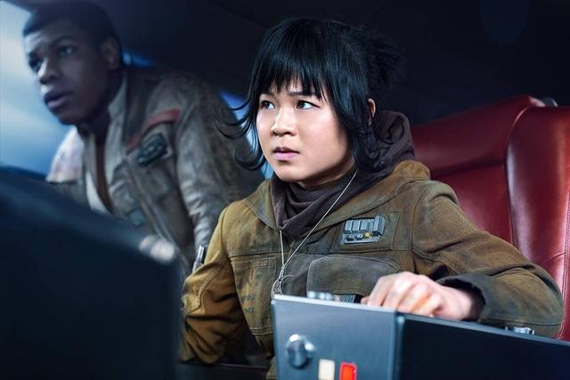 """Nữ diễn viên người Mỹ gốc Việt Kelly Marie Tran trong """"Star Wars: The Last Jedi"""""""