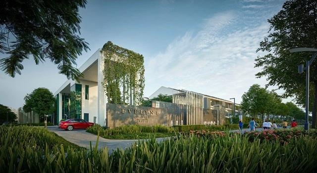 Dự án đã bàn giao 2 khu biệt thự, nhà vườn đẳng cấp mang tên Nadyne Gardens, Evelyne Gardens