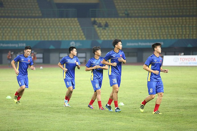 Các cầu thủ đã sẵn sàng cho trận quyết đấu với Bahrain