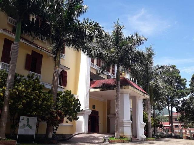 Trụ sở UBND huyện Thường Xuân.