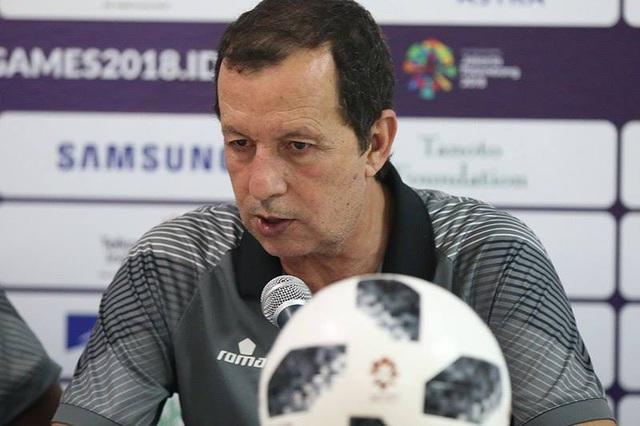HLV Samir Chammam thất vọng sau khi Bahrain bị loại ở Asiad 2018