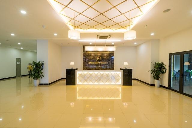 Là khu đô thị đẳng cấp bậc nhất phía tây thủ đô, TNR Goldmark City sử dụng các vật liệu cao cấp và thiết kế sang trọng hiện đại