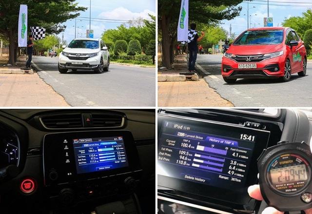 Honda CR-V và Honda Jazz có khả năng tiết kiệm nhiên liệu thực tế ra sao? - 1