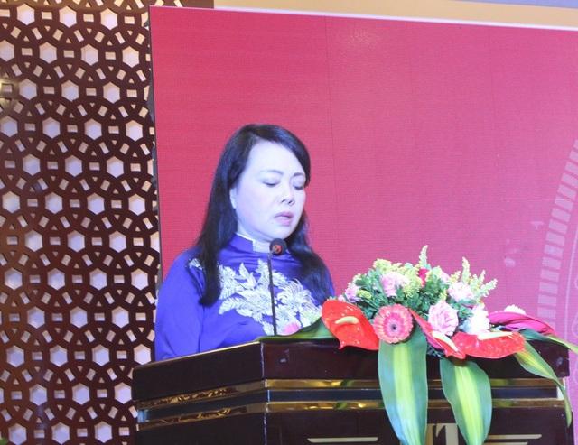 Bộ trưởng Nguyễn Thị Kim Tiến phát biểu tại Hội nghị