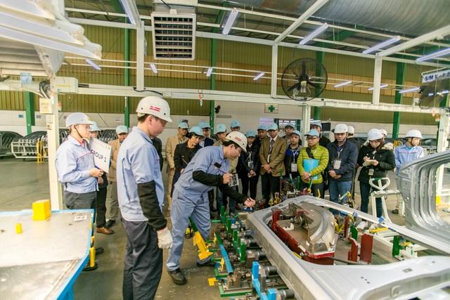 Doanh nghiệp FDI ô tô góp phần dịch chuyển cơ cấu lao động tại Việt Nam - 1