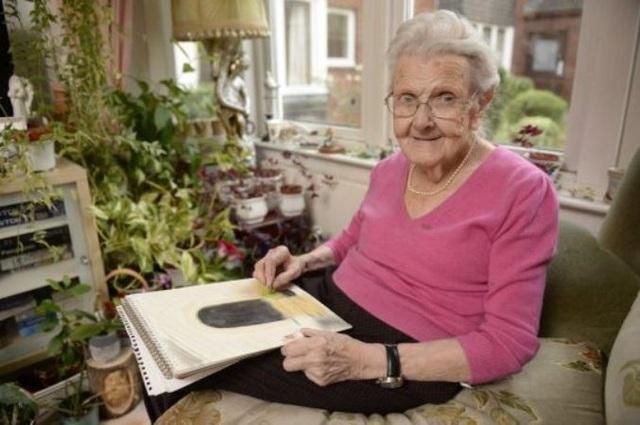 Margaret đã chứng minh thị lực kém không có nghĩa là bạn phải ngừng sáng tạo