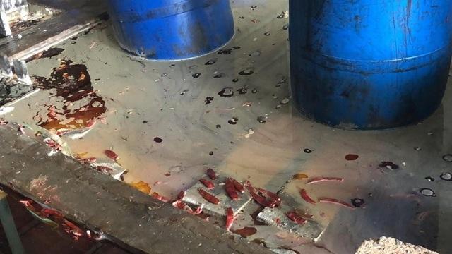 """Sau vụ quán cơm tấm sử dụng nguyên liệu """"lạ"""", phát hiện cơ sở ớt ngâm muối lẫn côn trùng - 4"""