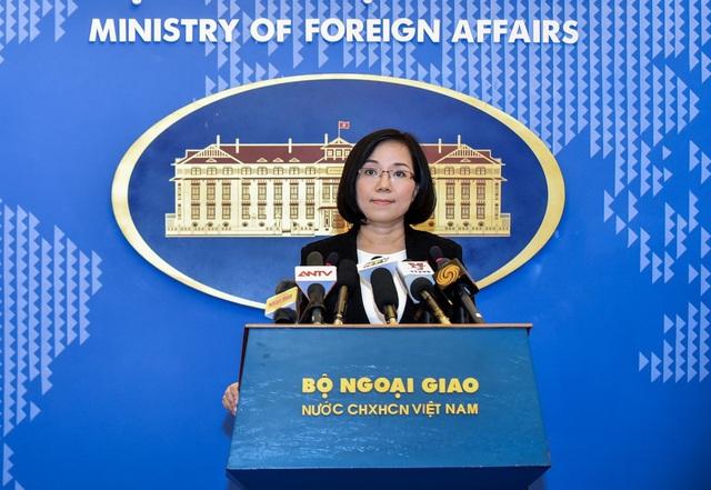Phó phát ngôn Bộ Ngoại giao Nguyễn Phương Trà