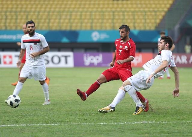 Syria và Uzbekistan giành vé vào tứ kết bóng đá nam Asiad 2018 - 4