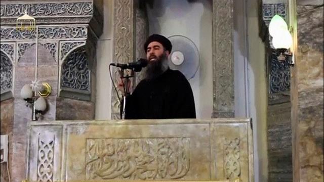 Thủ lĩnh tối cao của tổ chức khủng bố IS Abu Bakr al-Baghdadi (Ảnh: Reuters)