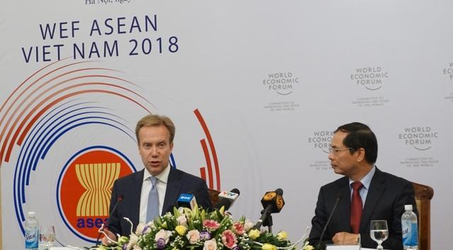 Diễn đàn kinh tế thế giới về ASEAN sẽ diễn ra tại Hà Nội từ ngày 11/-13/9