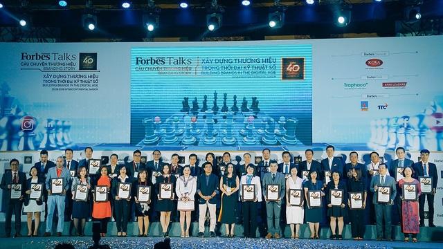 40 thương hiệu công ty Việt Nam giá trị nhất năm 2018